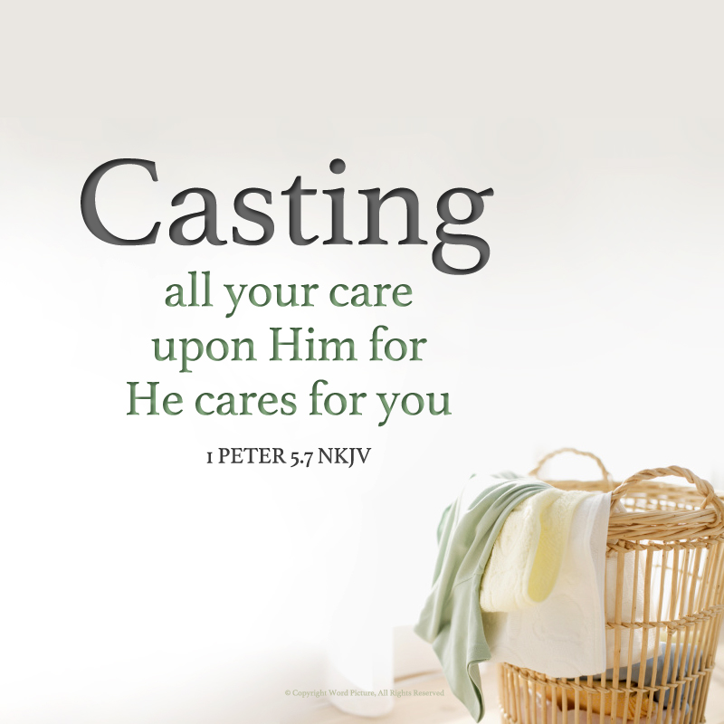 1 Peter 5 7 - At the Well Ministries